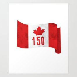 Canada 151 Canada Day Celebrations July 1s Art Print
