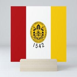 flag of San Diego Mini Art Print
