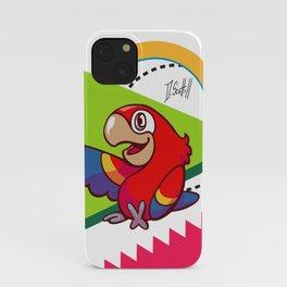 Parrot Pal iPhone Case