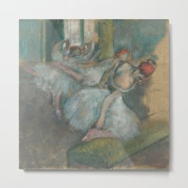 Ballet Dancers by Hilaire-Germain-Edgar Degas Metal Print