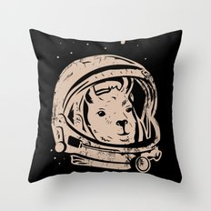 Astrollama Throw Pillow