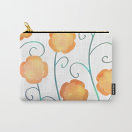 Silly Poppies Carry-All Pouch