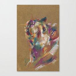 Rat portrait Canvas Print