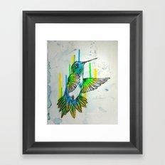 Humming Framed Art Print