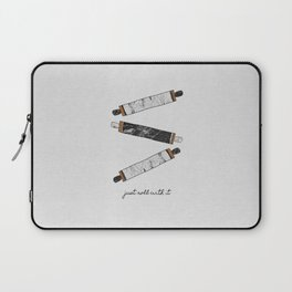 Just Roll With It, Kitchen Prints Laptop Sleeve