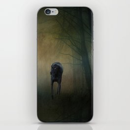 The Hound In The Woods iPhone Skin