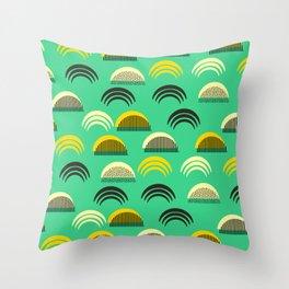 Decor semicircles Throw Pillow