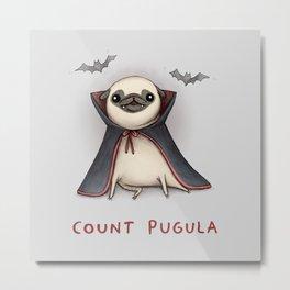 Count Pugula Metal Print