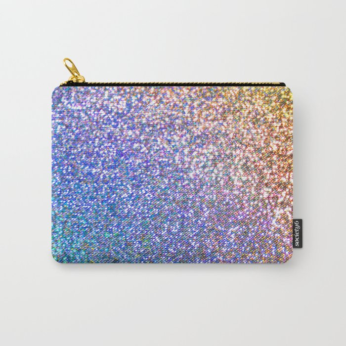 Glitter Rainbow Carry-All Pouch