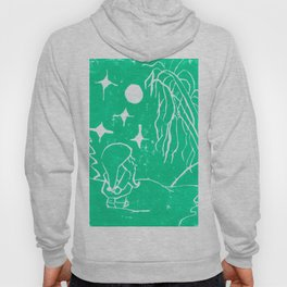 The Winter Elf- Mint Green Hoody