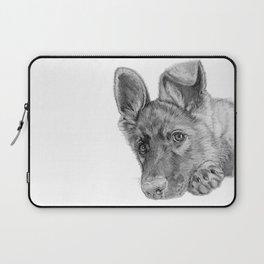 Patience :: A German Shepherd Puppy Laptop Sleeve
