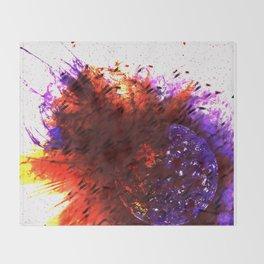 Solar Explosion Throw Blanket