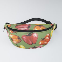 Bell Peppers Pattern Fanny Pack