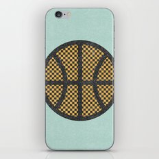 Op Art Basketball. iPhone Skin