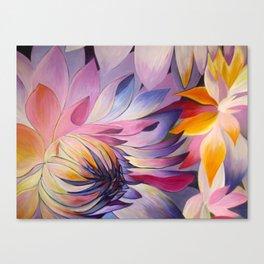 """Purple Dahlia"" Canvas Print"