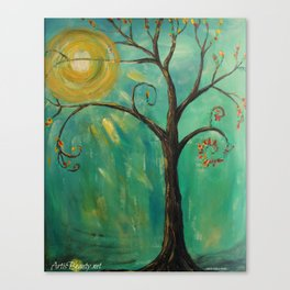 WHIMSY TREE OF LIFE Canvas Print