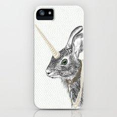 uni-hare All animals are magical Slim Case iPhone (5, 5s)