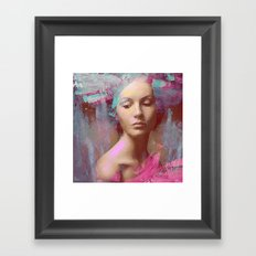 Fairy Morgan Framed Art Print