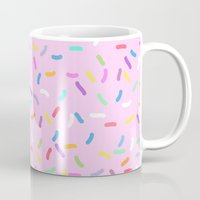 donut Mugs featuring Donut  by Alexandra Aguilar