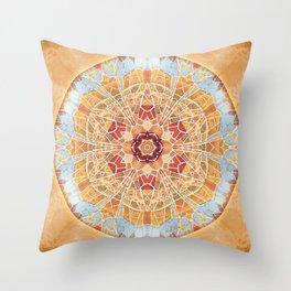 Mandalas of Forgiveness & Release 17 Throw Pillow
