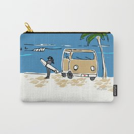 Surf Van on The Point Carry-All Pouch