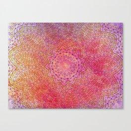 pink blast Canvas Print