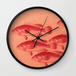 """Coletivo """"Peixes"""" Wall Clock"""