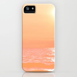 Creamsicle Sunset iPhone Case