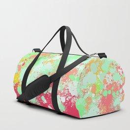 paint splatter on gradient pattern tgpi Duffle Bag