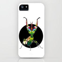 Devil's Flower Mantis (Idolomantis diabolica)     BUGSPOTTING SERIES iPhone Case