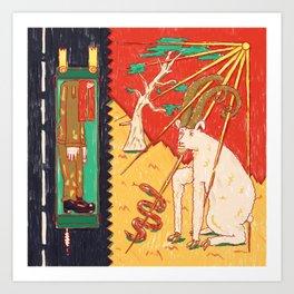 Mizpe Ramon Art Print