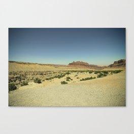 Black Dragon Canyon Canvas Print