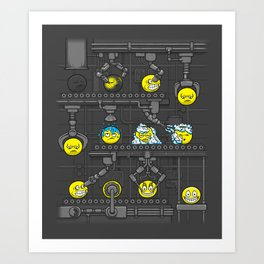 Smiley Factory Art Print