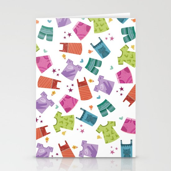 HER CLOTHES Stationery Cards