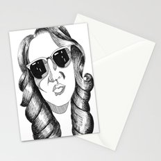 audrey gardrel Stationery Cards