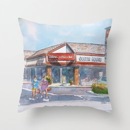Morning Drink @ Drnk Throw Pillow