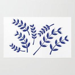 Roman Branches Pattern Rug