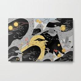 Bird Herder Metal Print