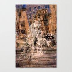 Piazza Navona 1 Canvas Print