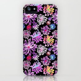 Painted Floral II iPhone Case