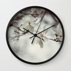 Where There is Wind Wall Clock