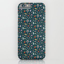 Holiday Pop Green iPhone Case