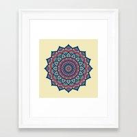islam Framed Art Prints featuring Mandala by Mantra Mandala