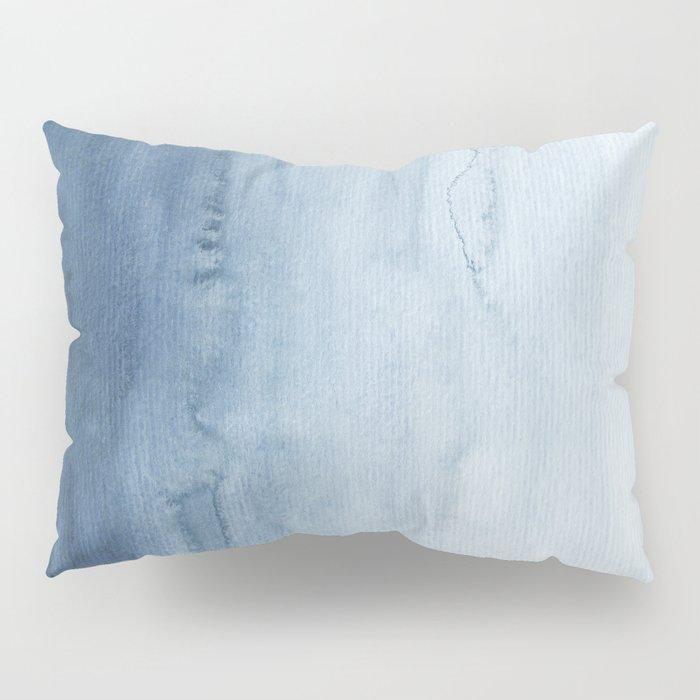 Indigo Abstract Painting | No. 5 Pillow Sham