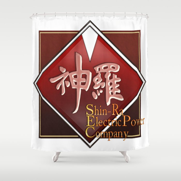 Shin-Ra Electric Shower Curtain
