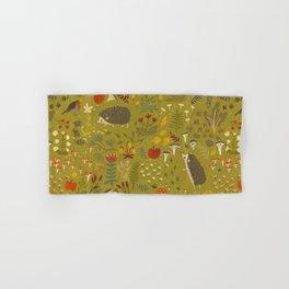 Hedgehog Meadow Hand & Bath Towel