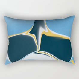 Futuristic Abstract  Rectangular Pillow
