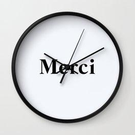 96. Thank You Wall Clock