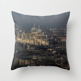 St Paul's Multiplied Throw Pillow