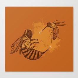 Fencing Canvas Print